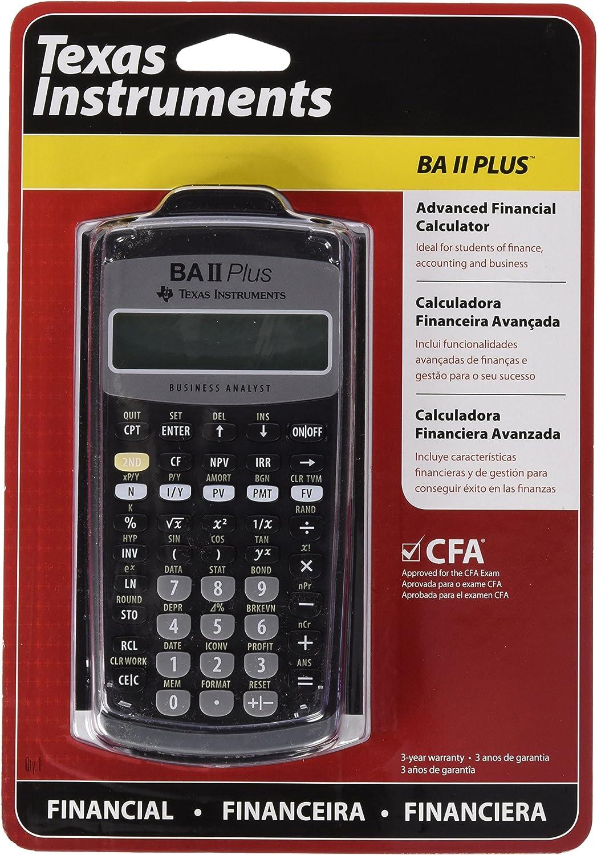 (Texas Instruments) Advanced Financial Calculator (BA II Plus) 91UKQOBsJhL