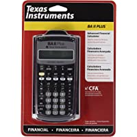 Texas Instruments BAII Plus Erweiterter Finanztaschenrechner