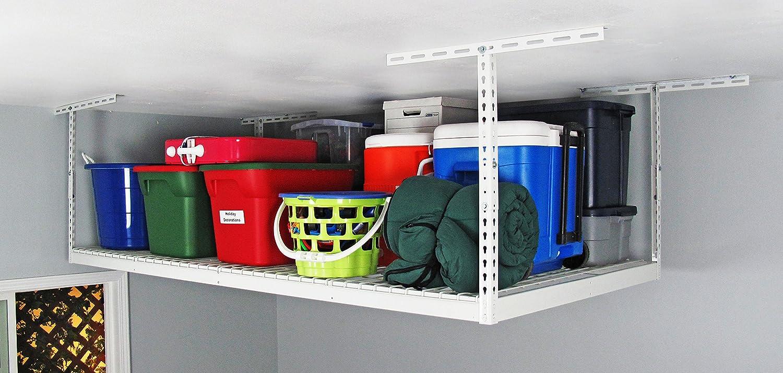 SafeRacks 4x8 Single Rack Package w/Accessory Hooks 18-33