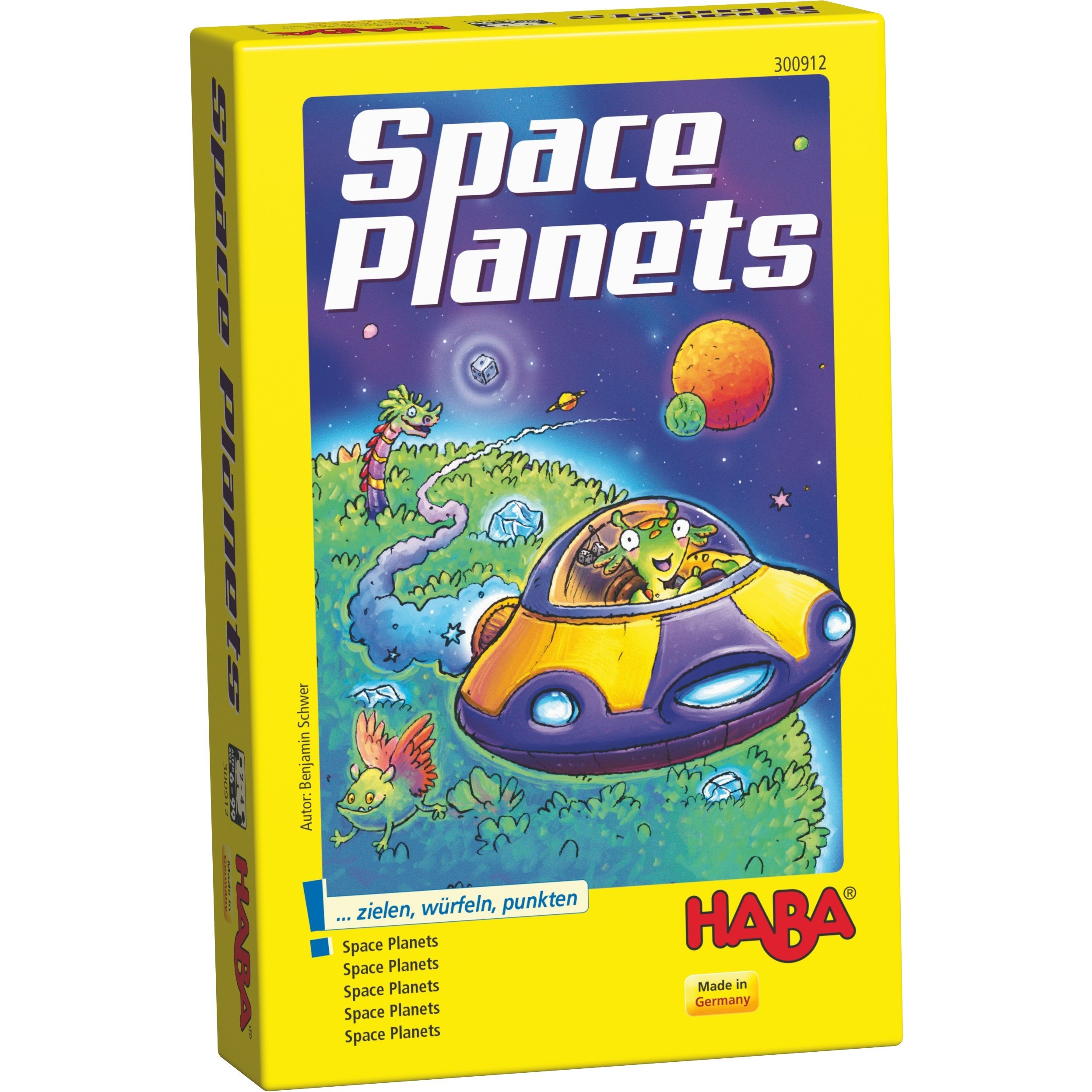 HABA Space Planets A Dice and Discovery Game for Ages 6 + (Made in Germany)