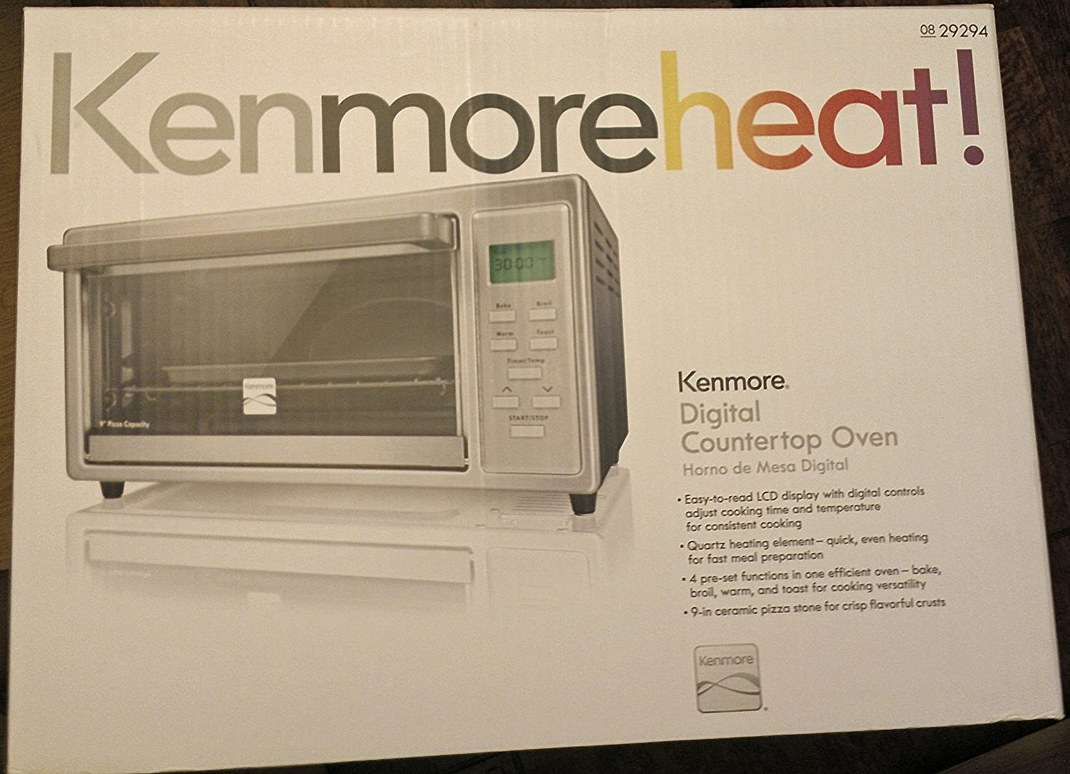 Amazon.com: Kenmore 4 slice Digital Toaster Oven with 9