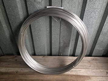 Bindedraht 5 Meter x 0,5 mm Rostfrei V2A Edelstahldraht