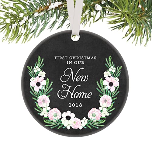 new home keepsake gifts 2018 first christmas in our new home ornament new homeowners