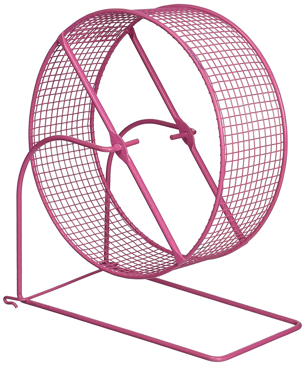 Prevue Pet Products SPV90013 Wire Mesh Hamster/Gerbil Wheel Toy for Small Animals, 8-Inch, Colors Vary