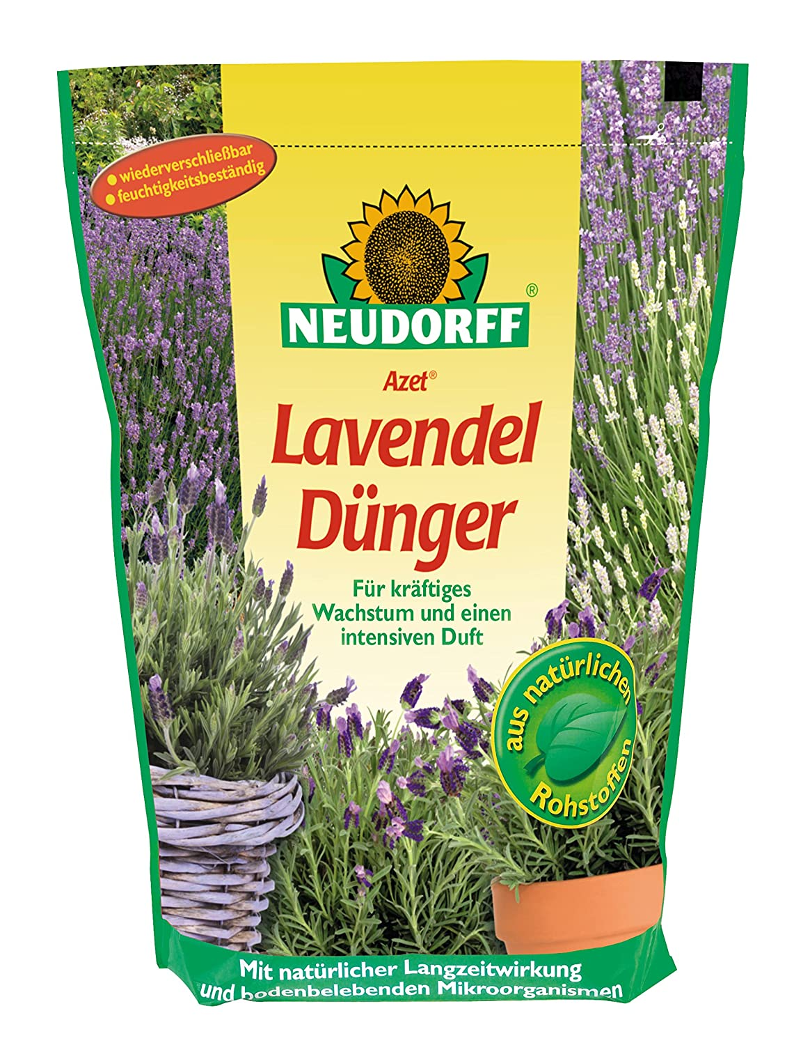 Neudorff Azet Lavender Fertiliser 750g with MyccoVital