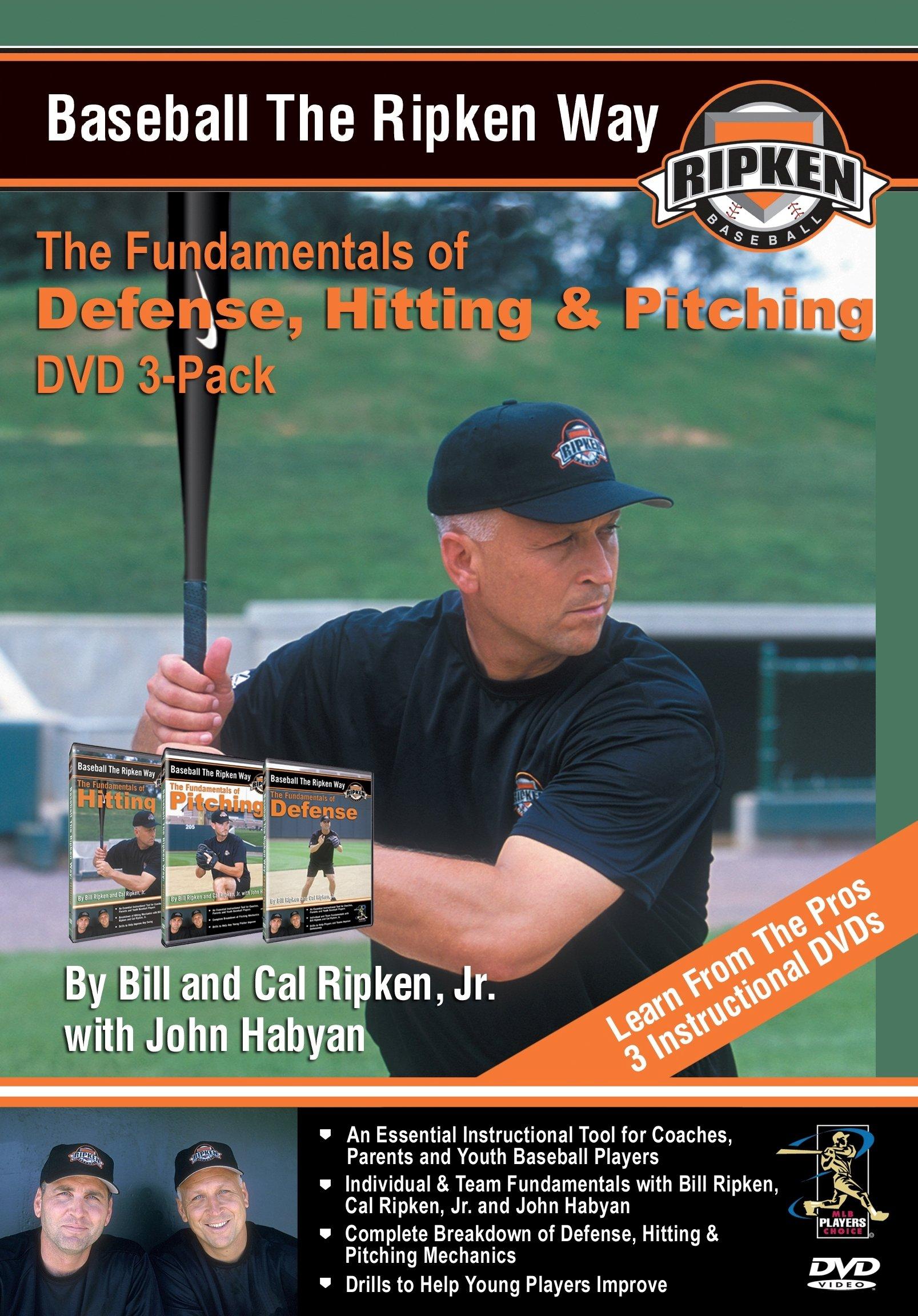 Baseball the Ripken Way DVD 3-Pack by Elite Sports