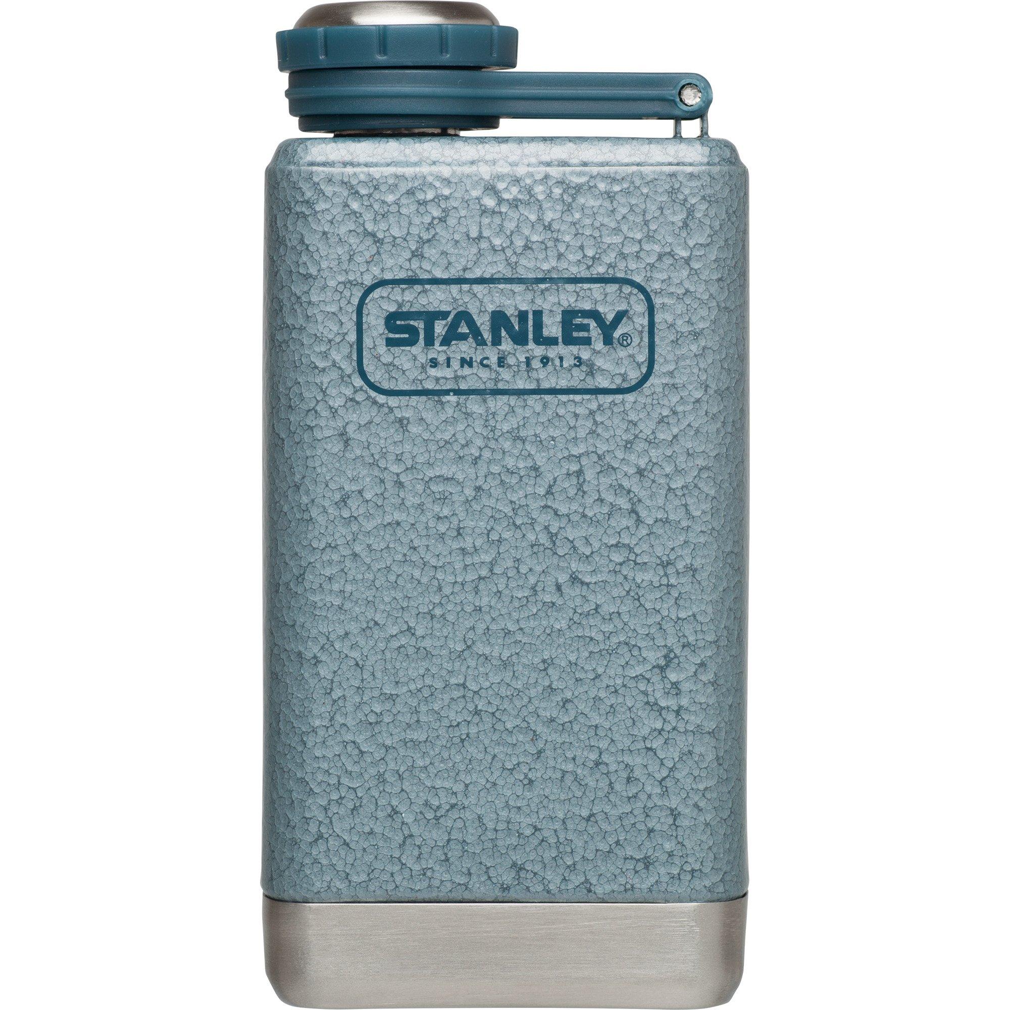 Stanley Adventure Stainless Steel Flask, Hammertone Ice, 5 oz