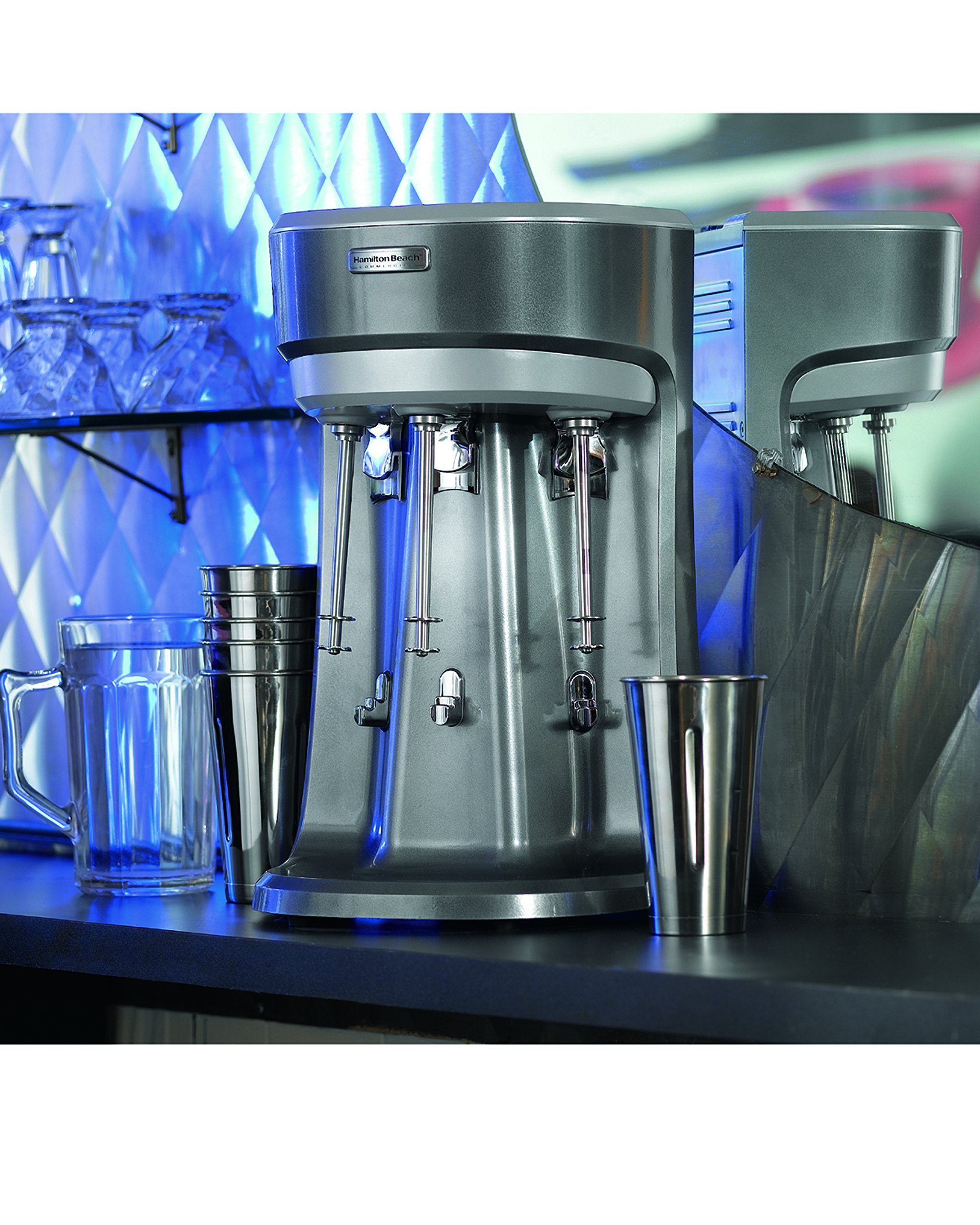 Hamilton Beach HMD400 120V Triple Spindle Commercial Drink Mixer by Hamilton Beach (Image #5)