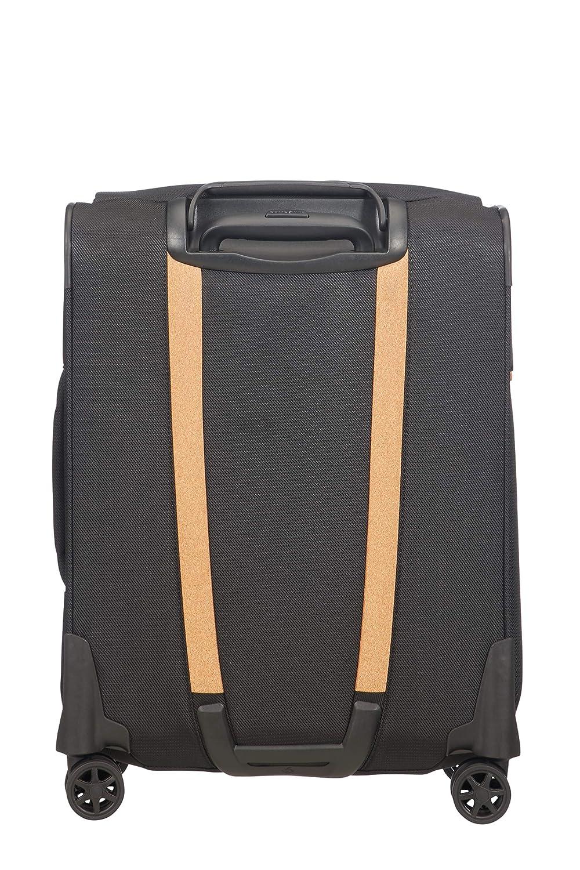 Negro SAMSONITE Spark SNG Eco Spinner 55 Toppocket Equipaje de Mano Eco Black 43 Liters cm