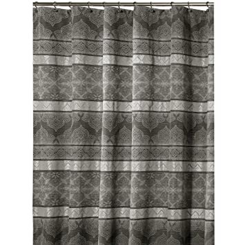 Nicole Miller Chatelaine 72 Inch X 72 Inch Shower Curtain (Brown, Tan