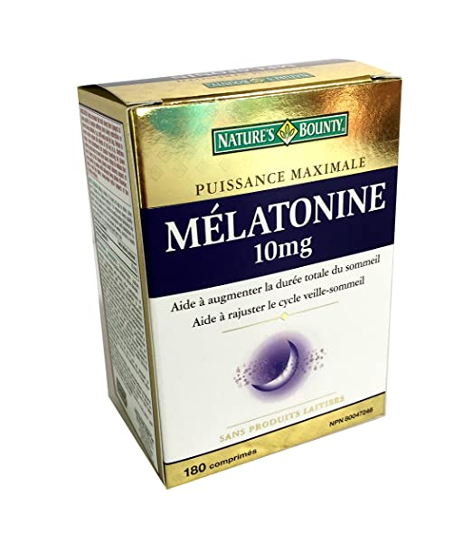 Amazon.com: Natures Bounty Melatonin 10mg, 180 tabs: Health & Personal Care