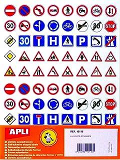 Agipa 10116 Pegatinas Tráfico Leyes