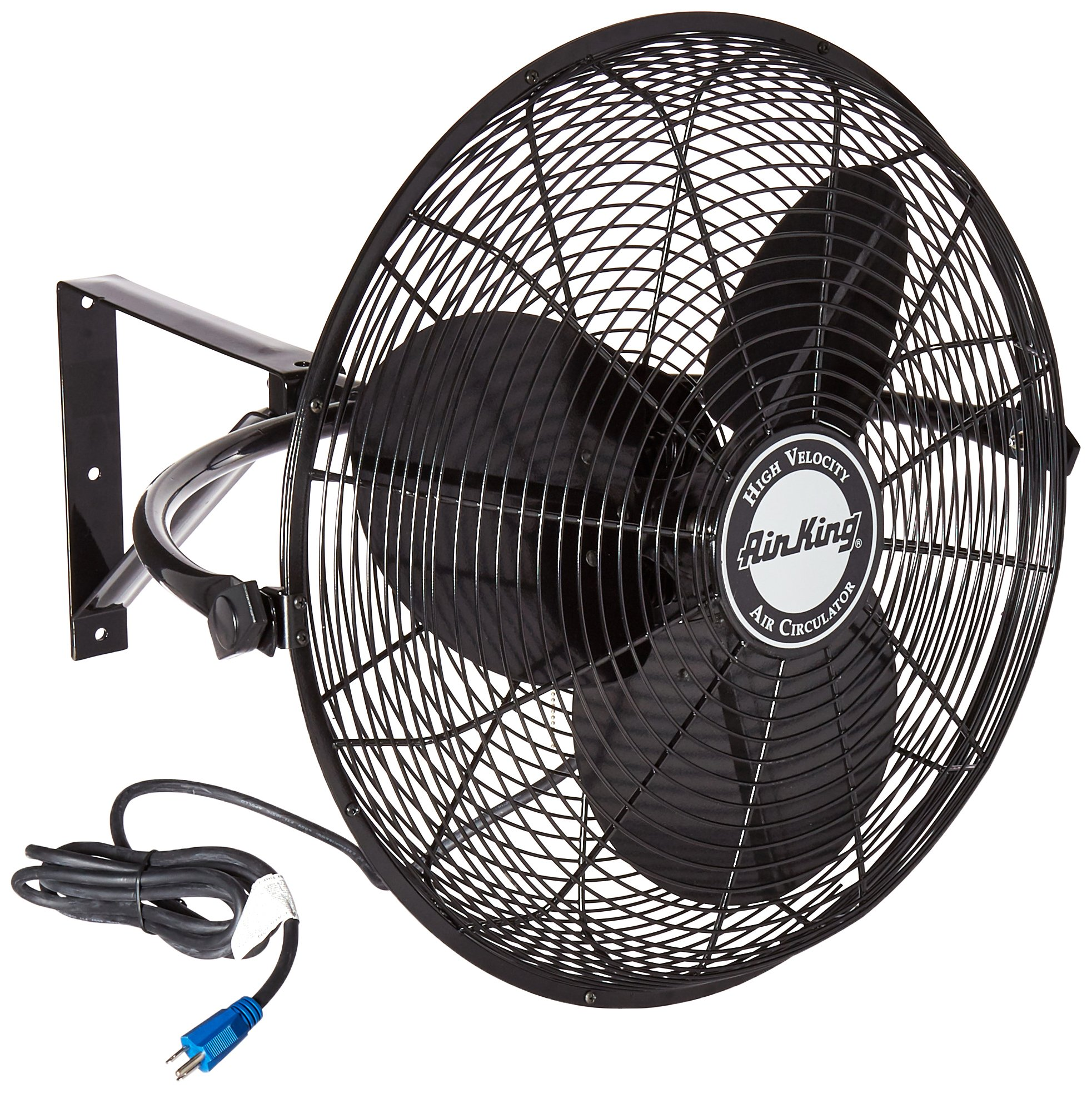 Air King 9020 1/6 HP Industrial Grade Wall Mount Fan, 20-Inch by Air King