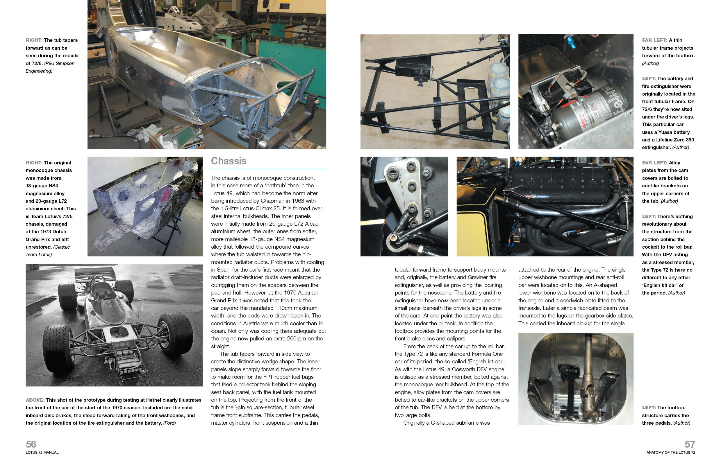 lotus 72 1970 onwards all marks an insight into the design rh amazon com Lotus 98T Lotus Cars