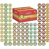 K-Cup Tea Variety Sampler Pack, 100-Count Keurig K Cups, Multiple Flavors (Green Tea, Black Tea, Jasmine, Earl Grey, English
