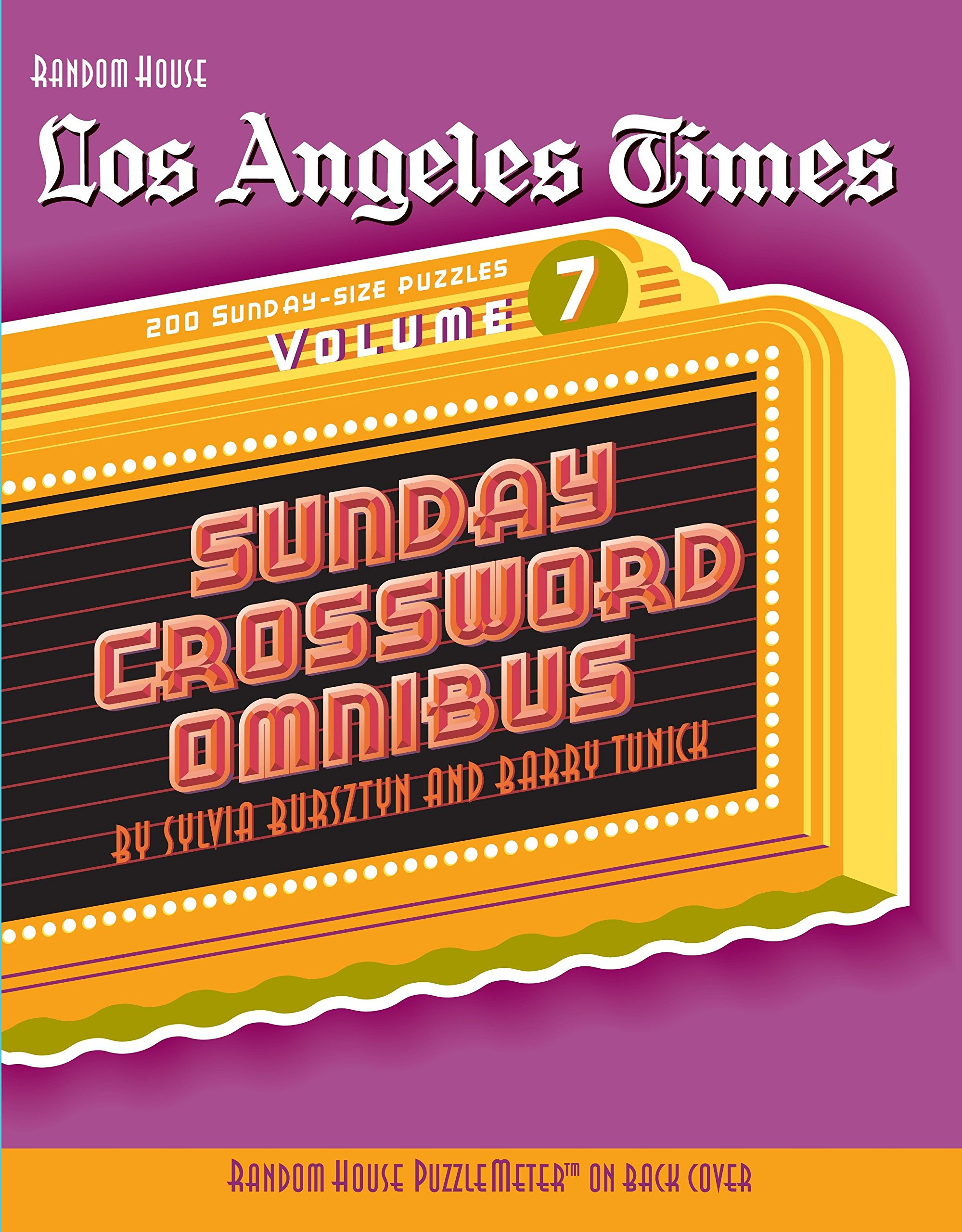 photograph relating to Printable Crossword Puzzles La Times identify Los Angeles Periods Sunday Crossword Omnibus, Quantity 7 (The