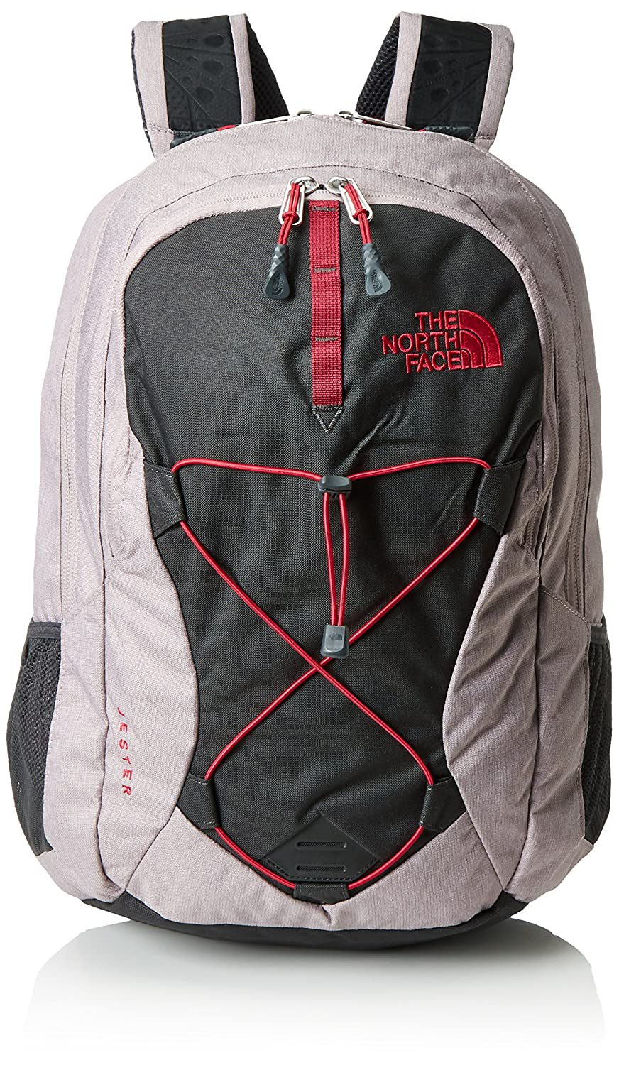 Amazon.com  The North Face Women s Jester Quail Grey Heather Cerise Pink One  Size  Computers   Accessories 3a30124d1