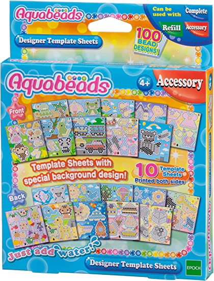 Aquabeads - 30288 - Set de Plantillas Diseñador: Amazon.es: Juguetes y juegos