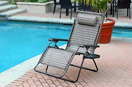 Set of 2 Oversized Zero Gravity Chair