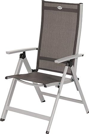 Hartman Jardin 2 X Chaise Pliante Aluminium Et Textilne Trinidad Argent