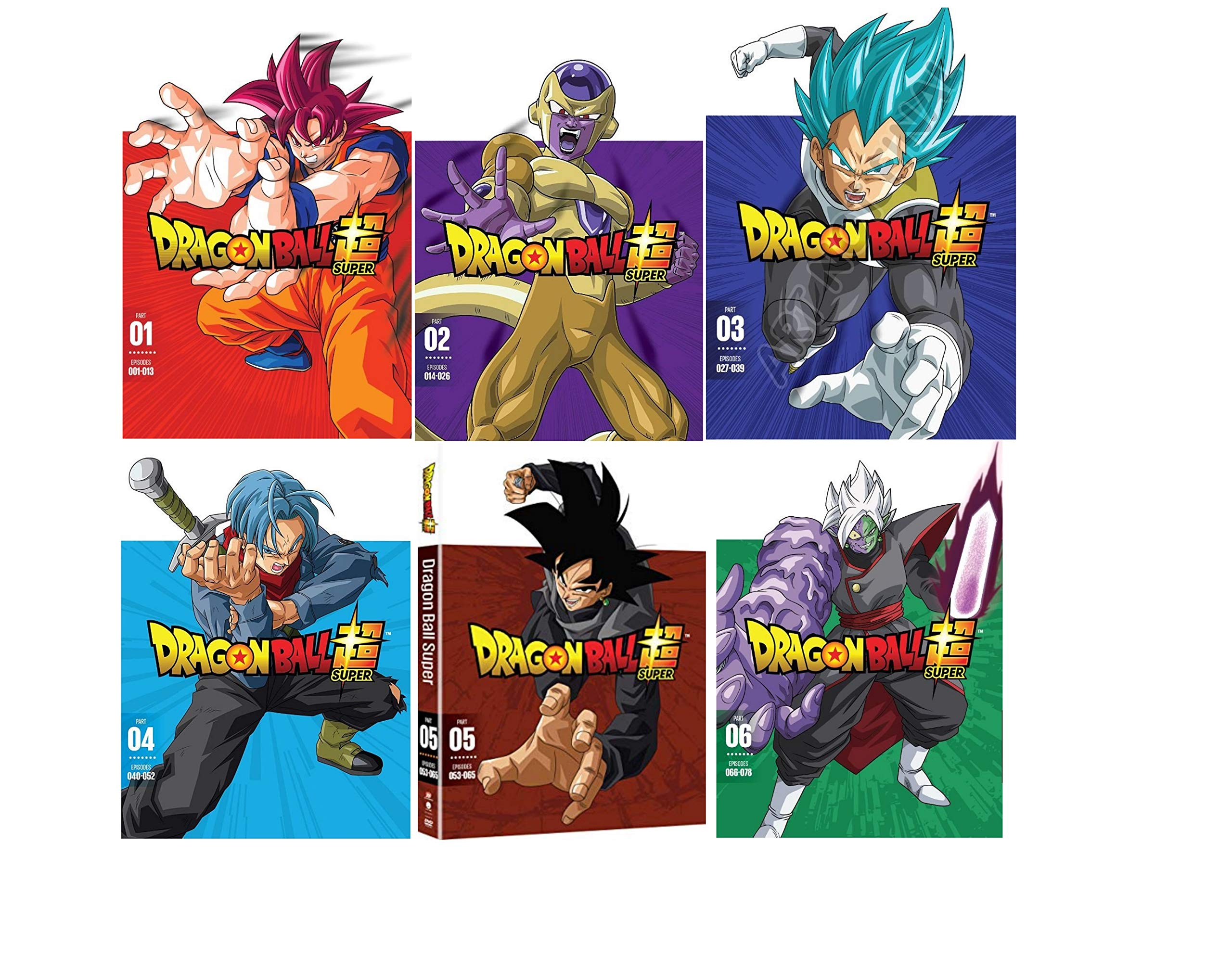 Dragon Ball Z Super: Complete Series Part 1-6 DVD by VA (Image #1)