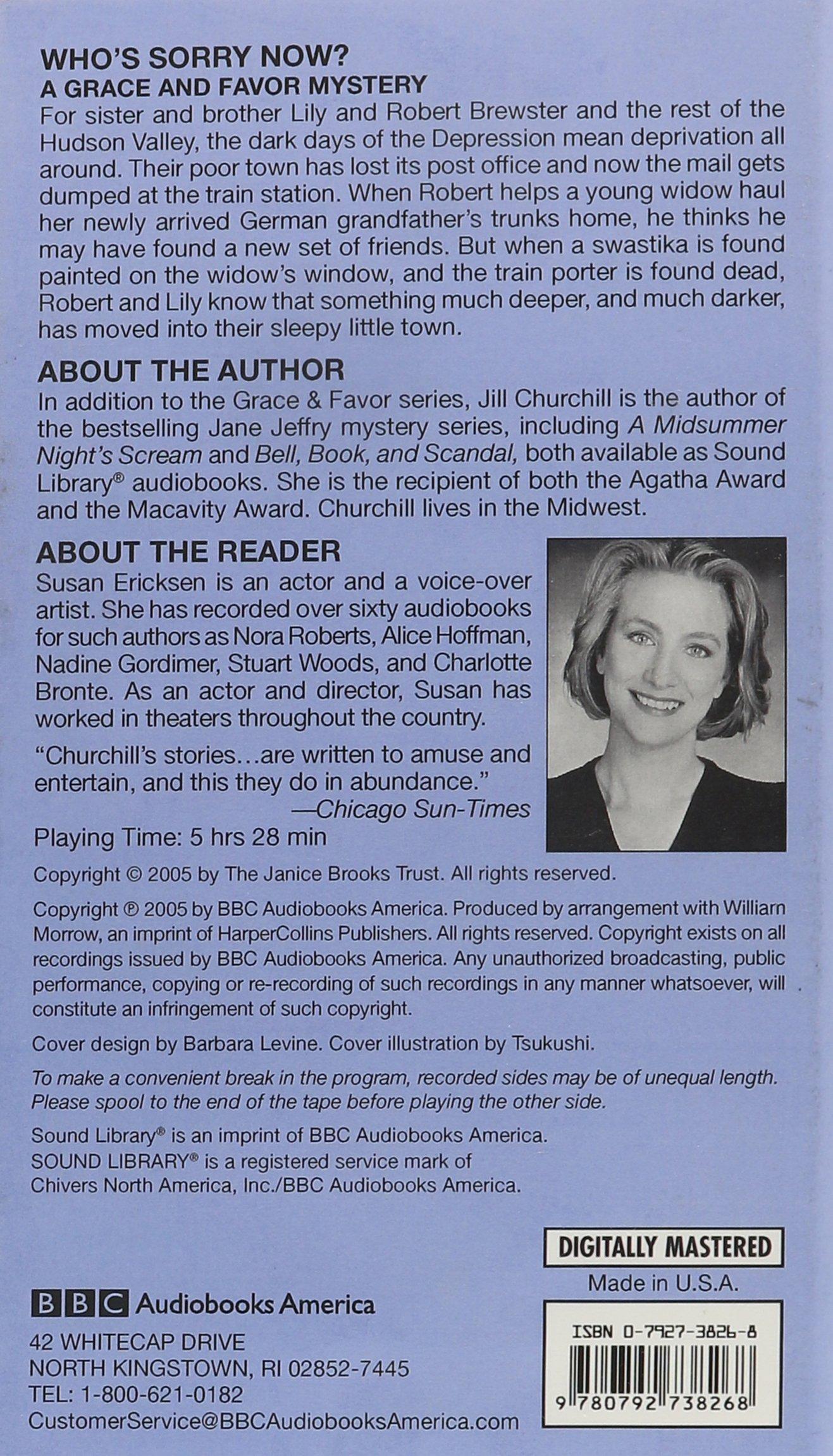 Jill Churchill, Susan Ericksen: 9780792738268: Books - Amazon.ca