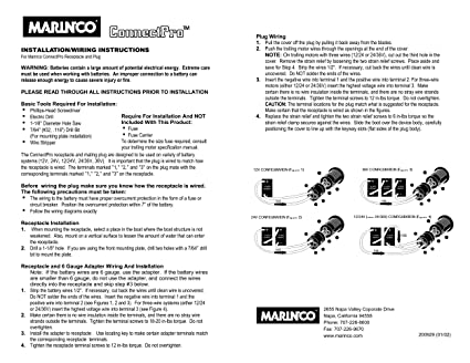 marinco 2 and 3 wire charging trolling systems audiovox wiring-diagram marinco 24 volt wiring diagram #8