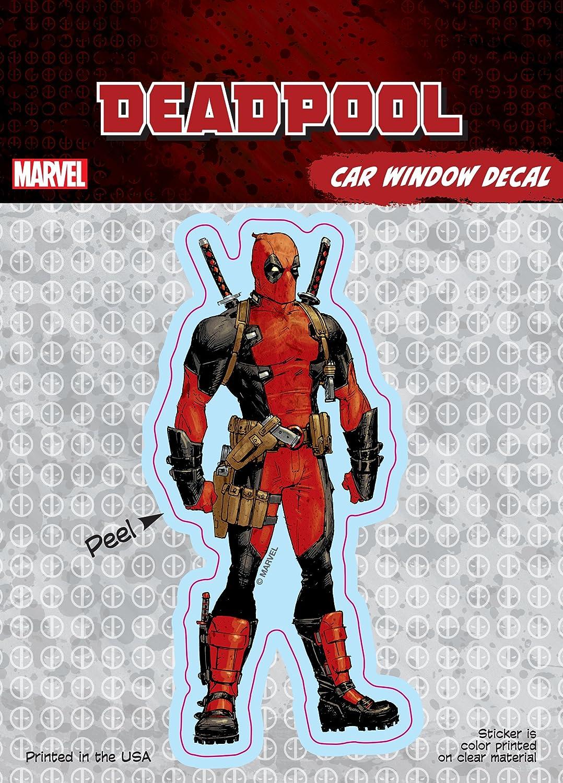 Deadpool Deadpool 4x8 Splatter Logo Marvel ST MDP SPLOGO/_4b8 Car Window Decal