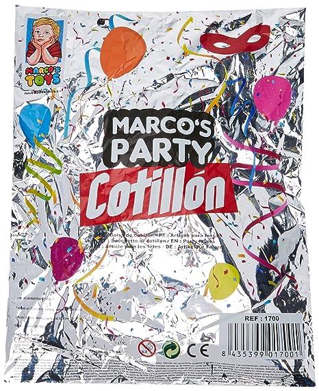 Marcos Party Bolsa de Cotillón (6 Accesorios): Amazon.es: Hogar