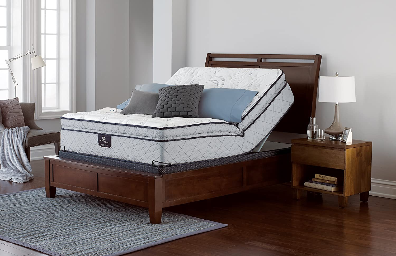 Serta Perfect Sleeper Lockland Super Pillow Top Mattress Hybrid Gel Innerspring
