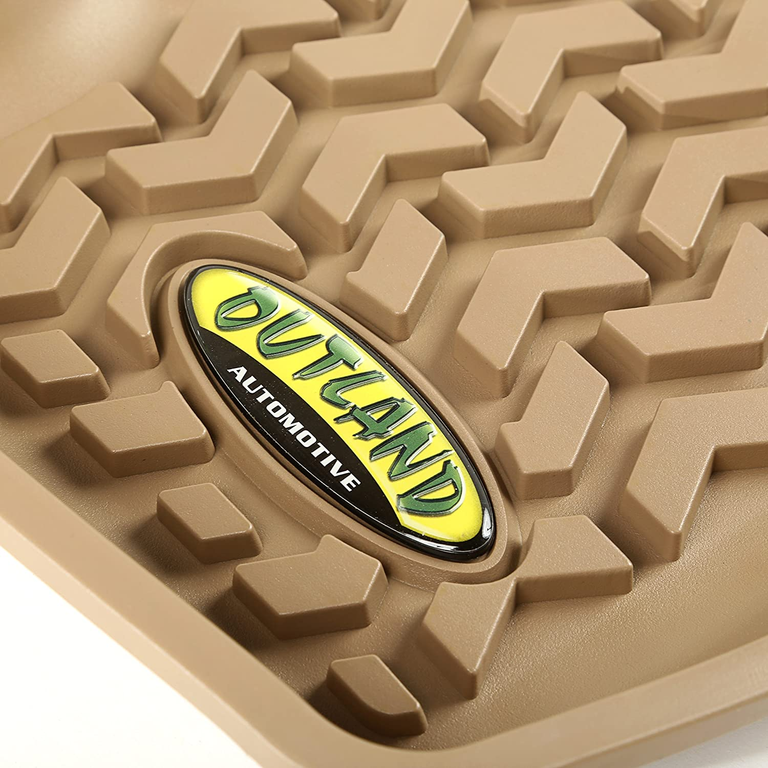 Outland 391395017 Tan Second Row Floor Liner For Select Dodge Caliber Jeep Compass and Patriot Models
