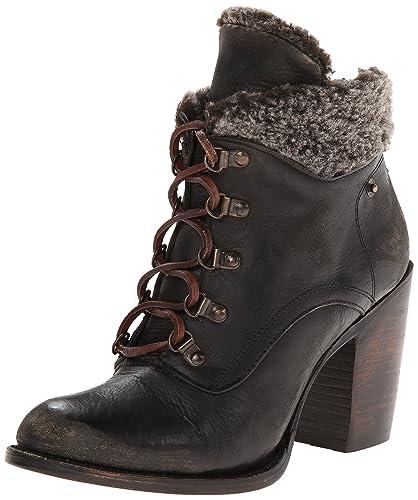 3d10cb4beb6 Amazon.com | Freebird Women's Swiss, Black 6 M US | Ankle & Bootie