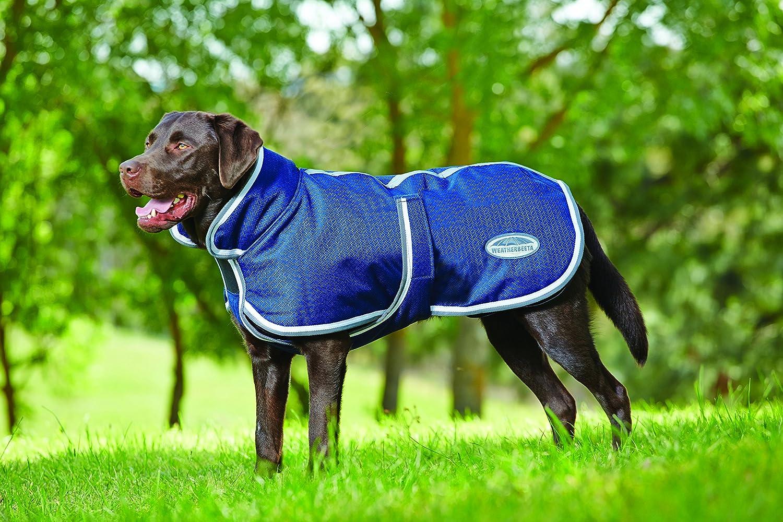 Weatherbeeta Parka 1200dデラックス犬コート B01I3Q2K2S 26|Navy/Grey/White Navy/Grey/White 26