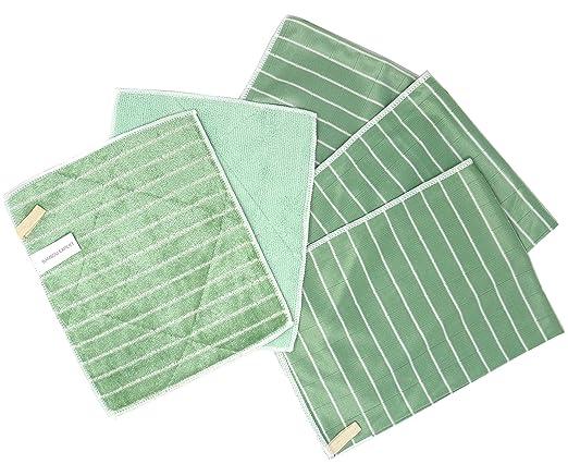 Bambou Expert® - Juego de 5 microfibra de bambú - 3 ...