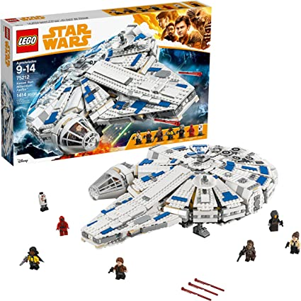 Amazon Com Lego Star Wars Solo A Star Wars Story Kessel Run Millennium Falcon 75212 Building Kit And Starship Model Set Popular Building Toy And Gift For Kids 1414 Pieces Toys Games