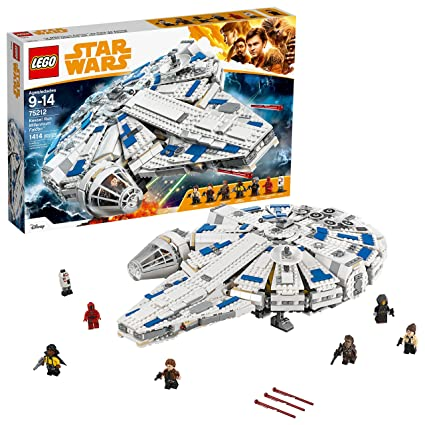 LEGO Star Wars Solo: A Star Wars Story Kessel Run Millennium Falcon 75212  Building Kit and Starship Model Set, Popular Building Toy and Gift for Kids