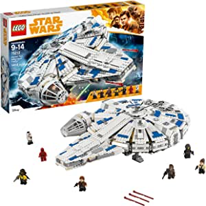 LEGO Star Wars Solo: A Star Wars Story Kessel Run Millennium Falcon 75212 Building Kit and Starship Model Set, Popular Building Toy and Gift for Kids (1414 Pieces) (Discontinued by Manufacturer)