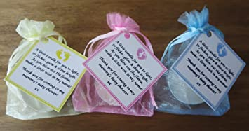 baby shower candle favours vanilla 12 pack pink amazon co uk baby