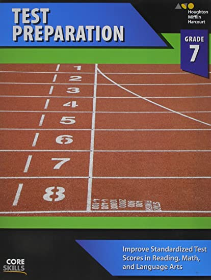 Steck-Vaughn Core Skills Test Preparation: Workbook Grade 7