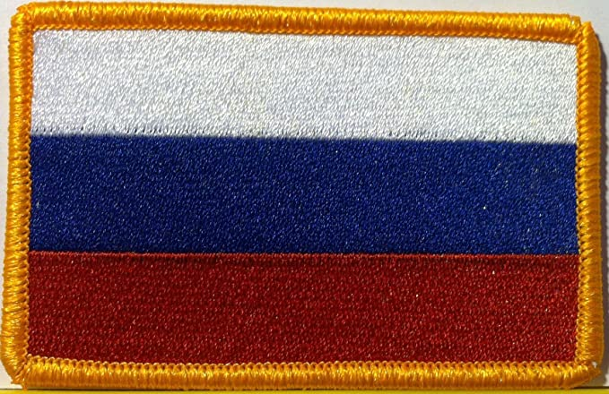KOSOVO Flag Embroidered Iron-On Patch Army Tactical Emblem  Gold Border