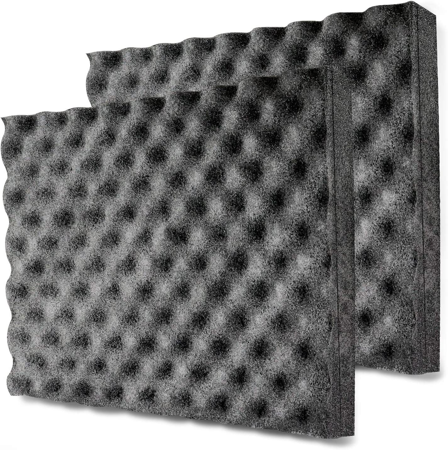 BXI Soundproofing Foam - Closed Cell Foam - Self-adhesive - Great for Noise & Thermal Insulation - 16'' X 12'' X 1.8''(2 PACK)