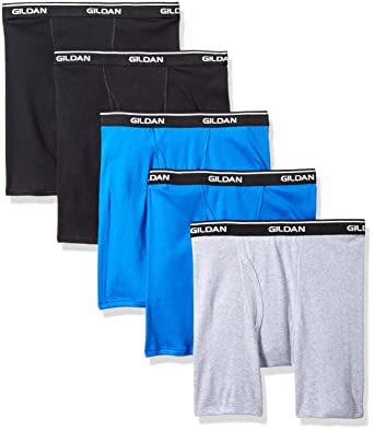 78d67a36f Gildan Platinum Men s 5-Pack Boxer Brief at Amazon Men s Clothing store