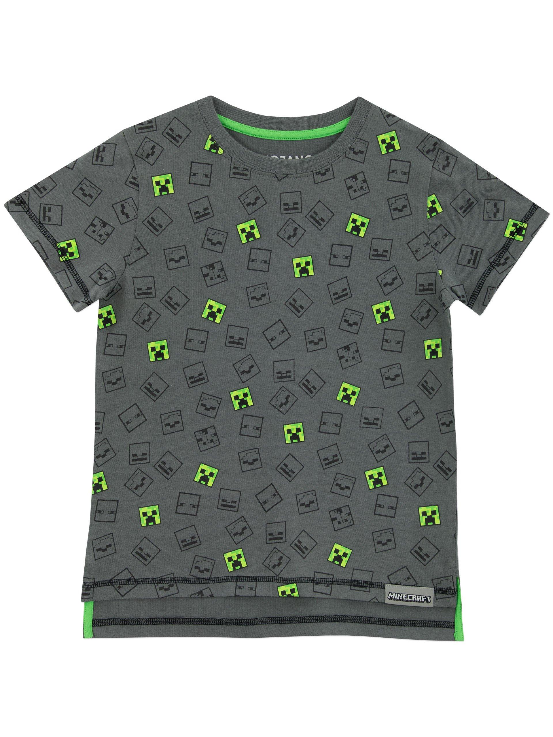 Minecraft Boys' Minecraft T-shirt Size 8