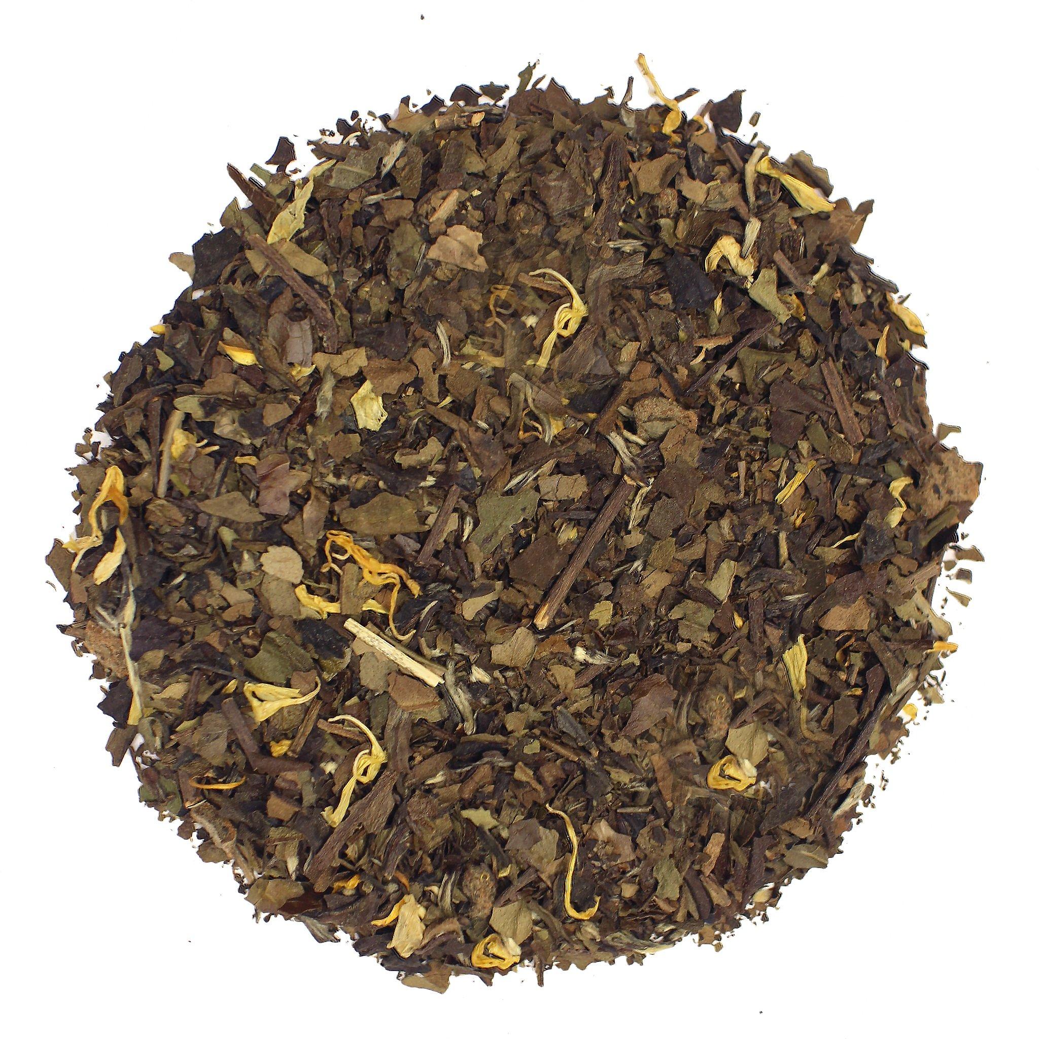 The Tea Farm - Peach White Fruit Tea - Loose Leaf White Tea (16 Ounce Bag)