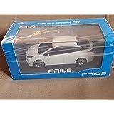 非売品 TOYOTA トヨタ 新型 プリウス 50系後期 PRIUS 1/30 ダイキャスト ミニカー ホワイトパールクリスタルシャイン 070