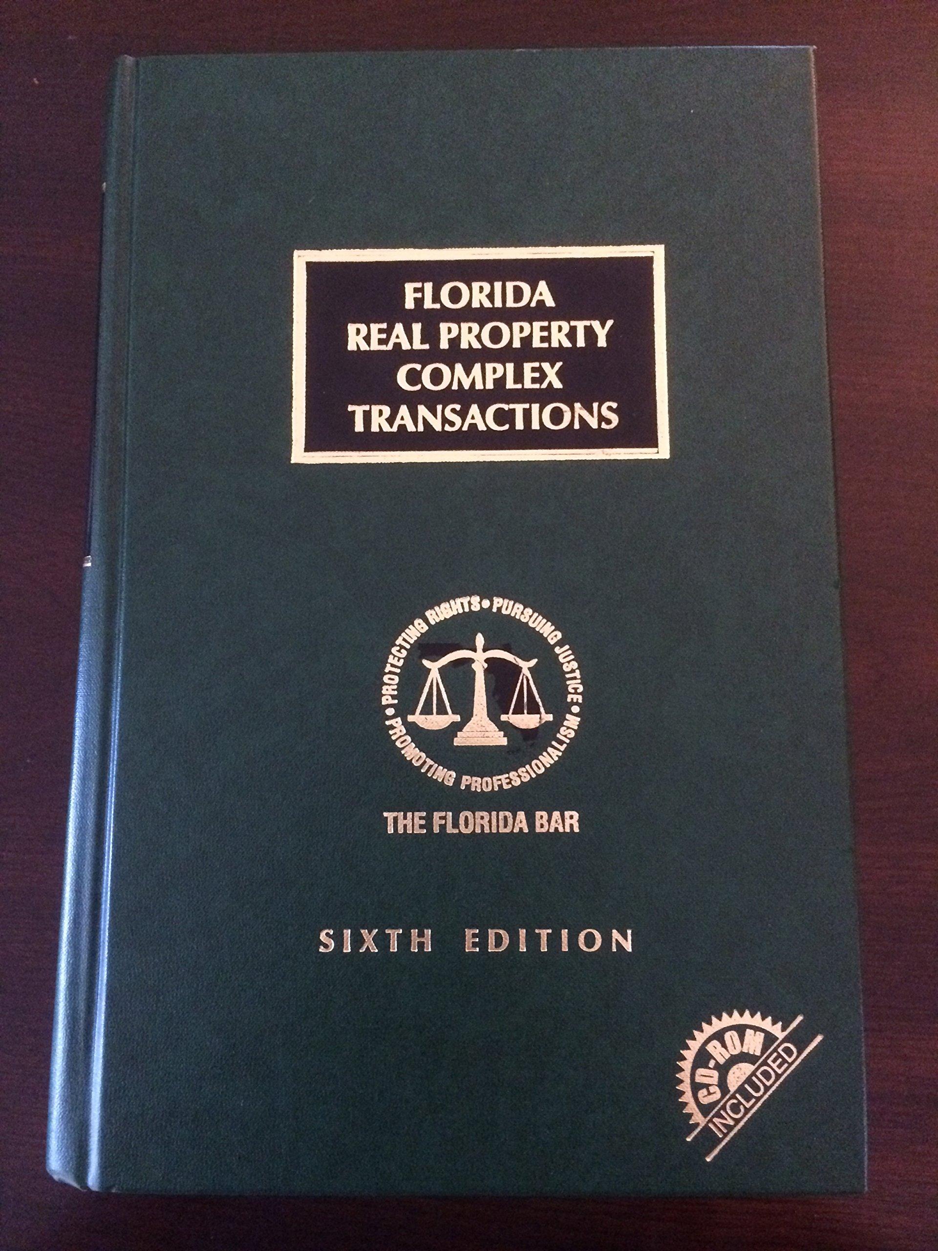 Download Florida Real Property Complex Transactions pdf