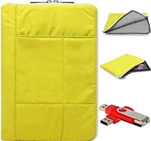 Pillow Edition Protective Lightweight Sleeve for Acer Iconia W Series W510 W510P 10.1 inch Tablet and 4G Flash Drive