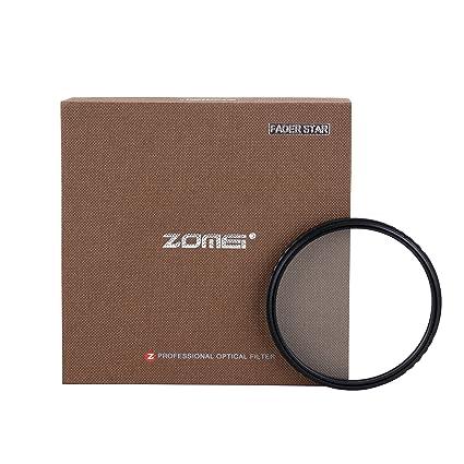 ZOMEI - Filtro Estrella de 72 mm, 4 Puntos + 6 Puntos + 8 Puntos ...