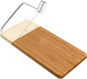 "Prodyne 126-B Bamboo Cheese Slicer 12"" x 6"" Bamboo"