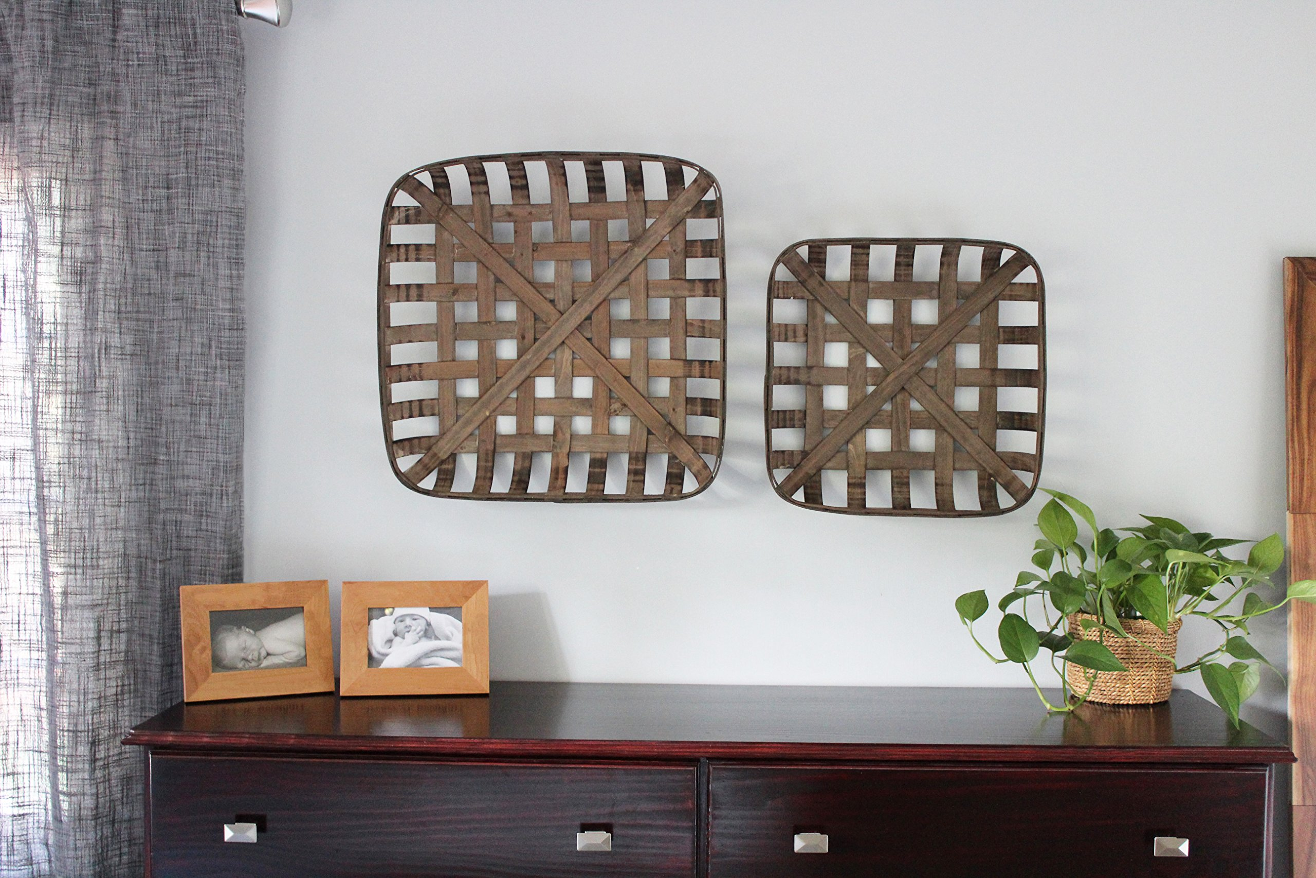 Tobacco Baskets, Set of 3, (Medium, Large, XLarge) | by Urban Legacy by Urban Legacy (Image #3)